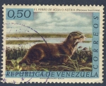 Sellos del Mundo : America : Venezuela : El perro de agua ó nutria