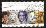 Sellos de Europa - Alemania -  50 anivº del banco nacional alemán