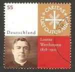 Stamps Germany -  lorenz werthmann, caritas