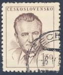 Stamps Czechoslovakia -  Klement Gottwald