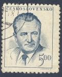 Sellos del Mundo : Europa : Checoslovaquia : Klement Gottwald