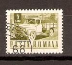 Sellos de Europa - Rumania -  CAMIÓN