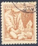 Sellos del Mundo : Europa : Checoslovaquia : pediatra