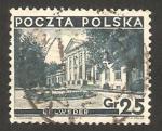 Sellos del Mundo : Europa : Polonia : 383 - Palacio de Belweder