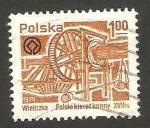 Stamps Poland -  2459 - Salinas de Wieliczka