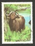 Stamps Africa - Republic of the Congo -  fauna, toro