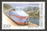 Stamps : Africa : Republic_of_the_Congo :  locomotora rusa