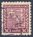 Stamps Czechoslovakia -  escudo