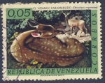 Stamps of the world : Venezuela :  El venado caramerudo