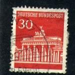Sellos de Europa - Alemania -  Puerta de Branderburgo