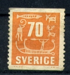 Stamps Europe - Sweden -  serie- Pinturas rupestres