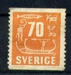 Stamps Europe - Sweden -  pinturas rupestres