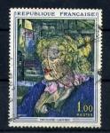 Sellos del Mundo : Europa : Francia : Pintura de Toulouse Lautrec