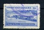 Stamps America - Panama -  bodas de plata- universidad nacional