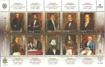 Stamps of the world : Venezuela :  2892 a 2900 - Protagonistas de la junta del 19 de abril de 1810