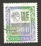 Stamps Italy -  due mila