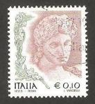 Stamps : Europe : Italy :  2535 - La mujer en el arte