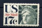 Sellos del Mundo : America : Estados_Unidos : estatua de la libertad-cabeza