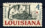 Sellos de America - Estados Unidos -  louisiana-150 aniv.