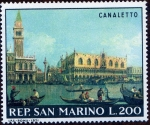 Stamps San Marino -  CANALETTO