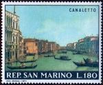 Sellos del Mundo : Europa : San_Marino :  CANALETTO
