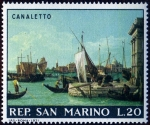 Stamps Europe - San Marino -  CANALETTO