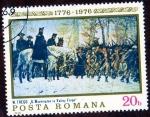 Sellos de Europa - Rumania -  G. WASHINGTON