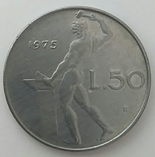 1975 - 50 liras
