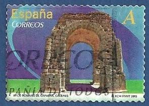 Edifil 4764 Arco romano de Cáceres A