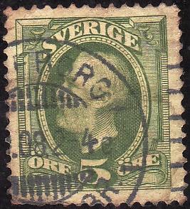 OSCAR II-  Rey de Suecia y Noruega