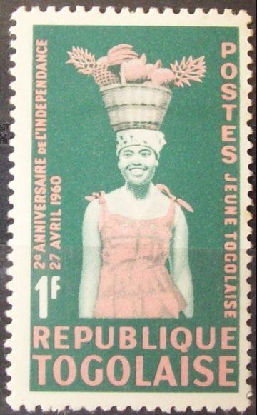 Togo. 2° Aniversario de la Independencia. 1962