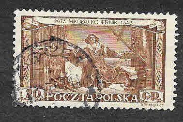 578 - 480 Aniversario del Nacimiento de Nicolás Copernicus