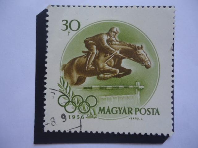 Equitación-Ecuestre - Juegos Olímpicos de Verano 1956, Melbourne-Australia.