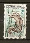 Sellos de Asia - Malasia -  Hapalemur Griseus.