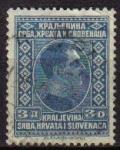 Sellos del Mundo : Europa : Yugoslavia : YUGOSLAVIA 1926 Scott 45 Sello Rey Alexander Kraljevina Srba, Hrvata i Slovenaca usado