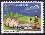 Sellos del Mundo : America : Guatemala : Juegos Tradicionales CAPIRUCHO