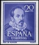 Sellos del Mundo : Europa : España : RUIZ DE ALARCON