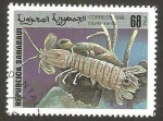 Sellos de Africa - Marruecos -  fauna marina