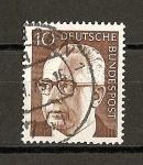 Sellos de Europa - Alemania -  Presidente G.Heinemann.