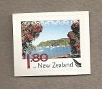 Sellos de Oceania - Nueva Zelanda -  Russell paisaje