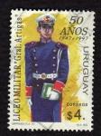 Sellos de America - Uruguay -  Uniforme Liceo Militar