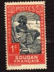 Sellos del Mundo : Africa : Sudán : Colonia Francesa
