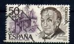 Sellos de Europa - España -  Antonio Machado