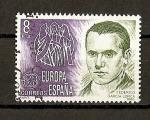 Sellos de Europa - España -  Tema Europa.
