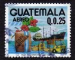 Sellos del Mundo : America : Guatemala : Exportacion de cafe