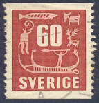 Sellos del Mundo : Europa : Suecia : Dibujos pre-historicos suecos