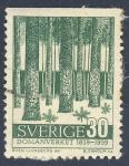 Sellos del Mundo : Europa : Suecia : Domanverket  1859 1959