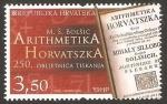 Sellos de Europa - Croacia -  250 anivº de aritmética horvatszka, de bolsic