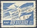 Sellos del Mundo : Europa : Suecia : SAS  1950 1960
