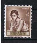 Sellos del Mundo : Europa : Eslovenia : Edifil  1665   Pintores  Romero de Torres   Día del Sello.